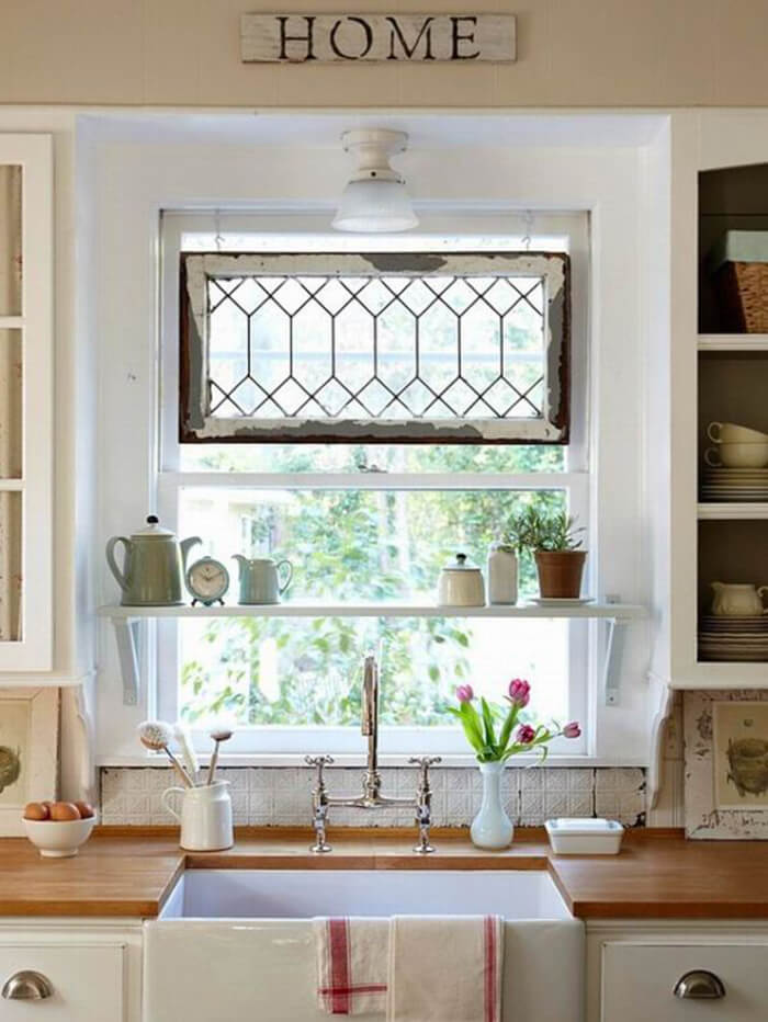 Hang a Window Instead of a Valance