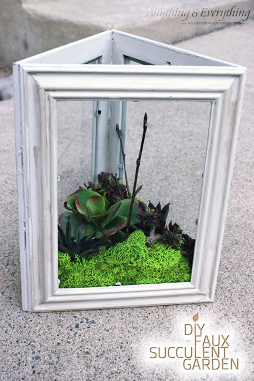 Use Three Frames to Create a Planter