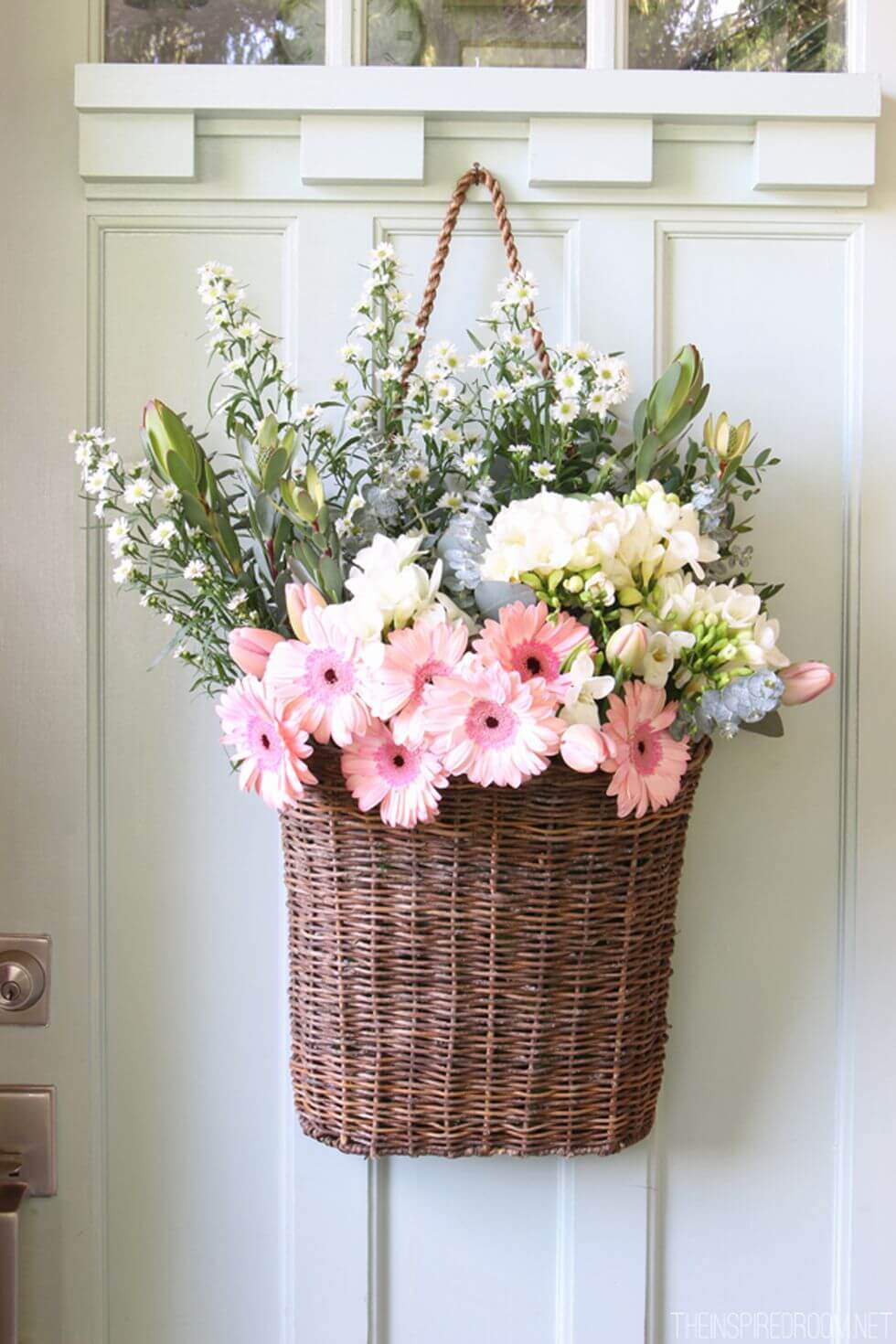 Old Fashioned Hanging Flower Basket