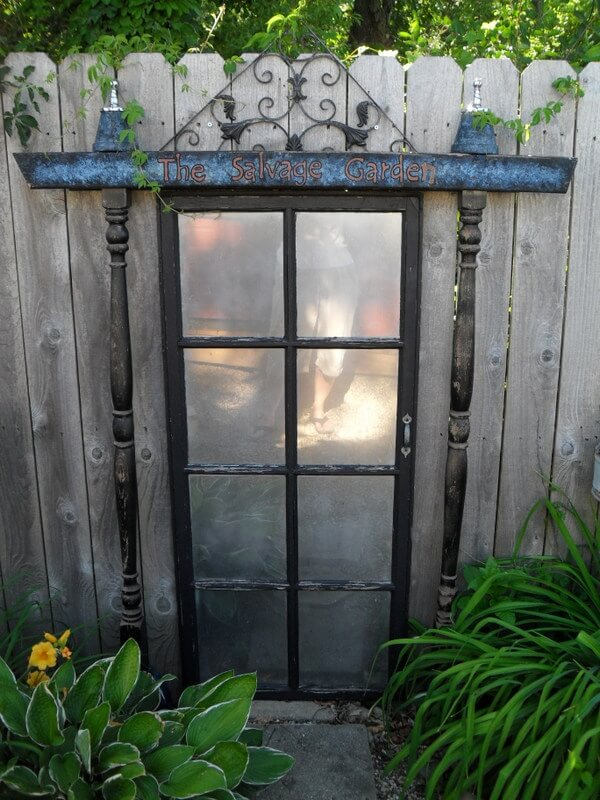 Magical Door into the Garden
