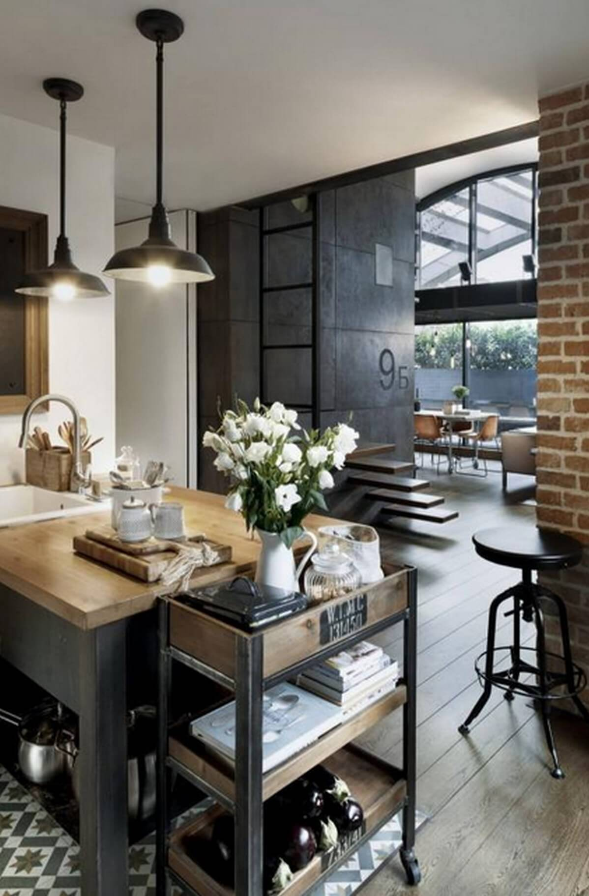 High Quality Industrial Home Decor Ideas For Kitchens