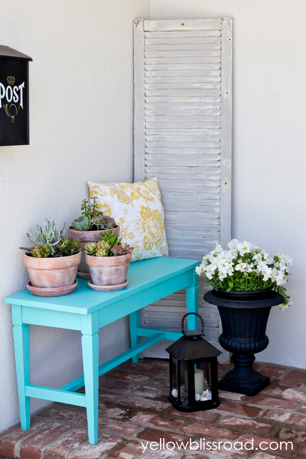 Backdrop for a Serene Porch Corner