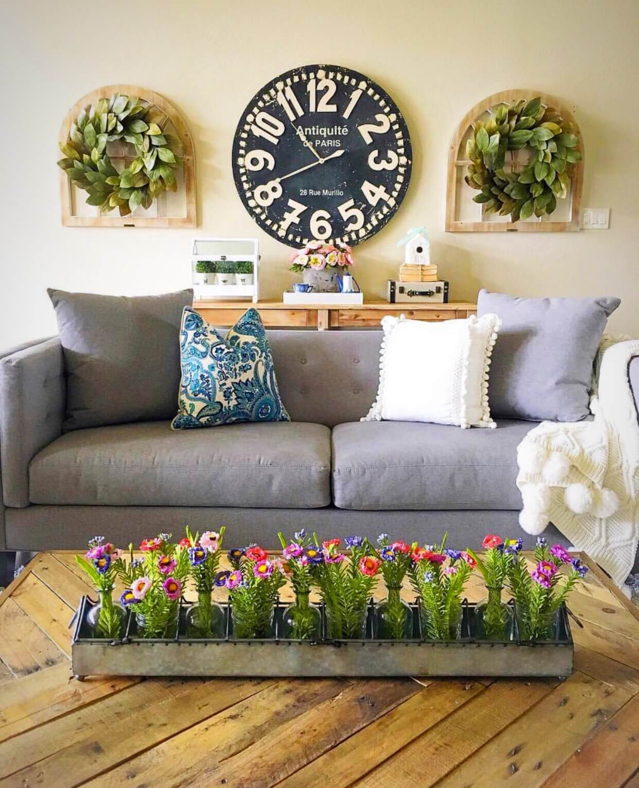 . 33 Best Rustic Living Room Wall Decor Ideas and Designs for 2019