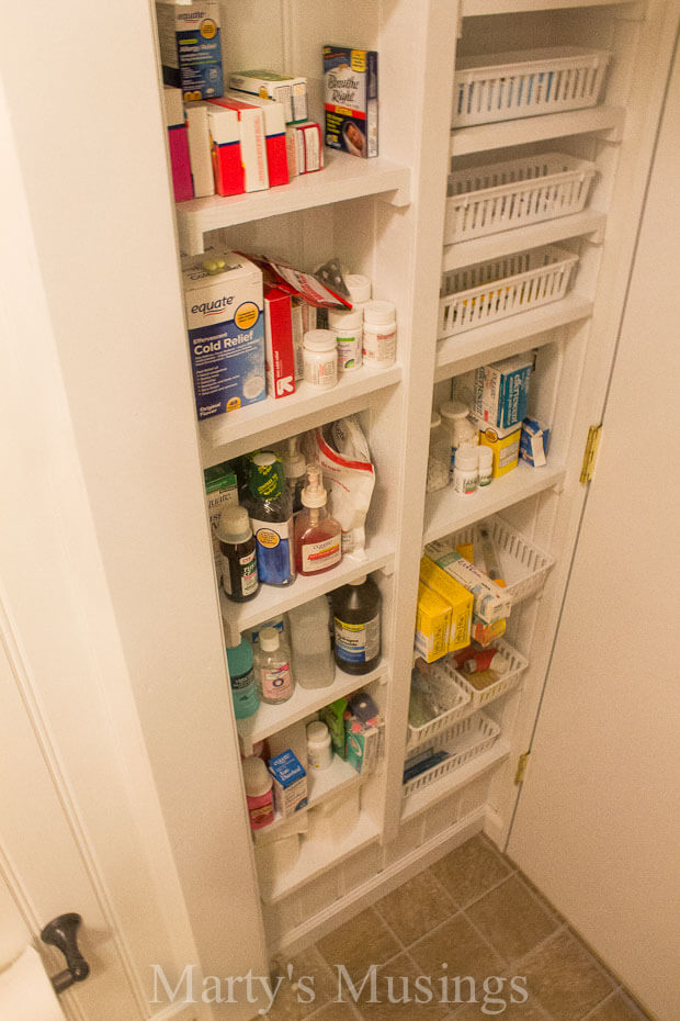 Built-in Linen and Supply Closet