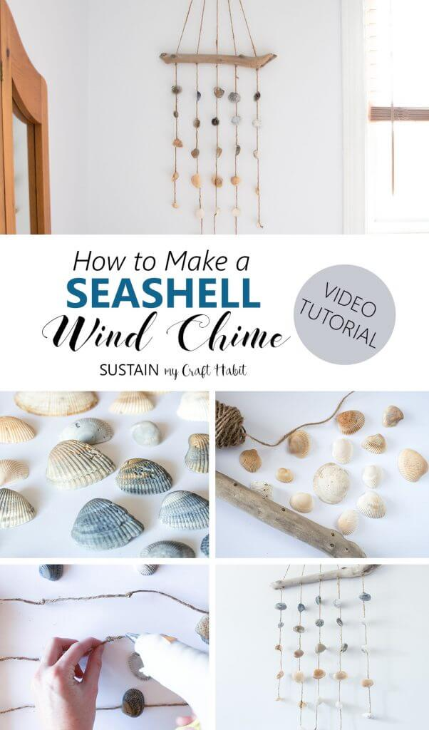 Make Your Own Seashell Wind Chime