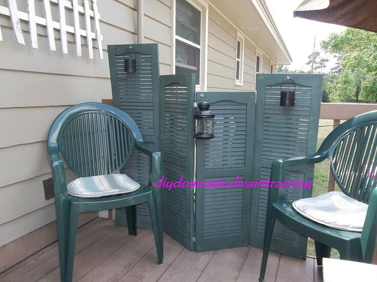 Easy Privacy Screen for your Deck