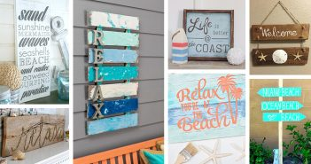 Beach Themed Wooden Sign Ideas