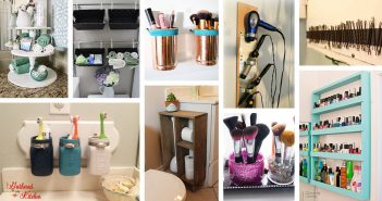 DIY Bathroom Organizing Projects
