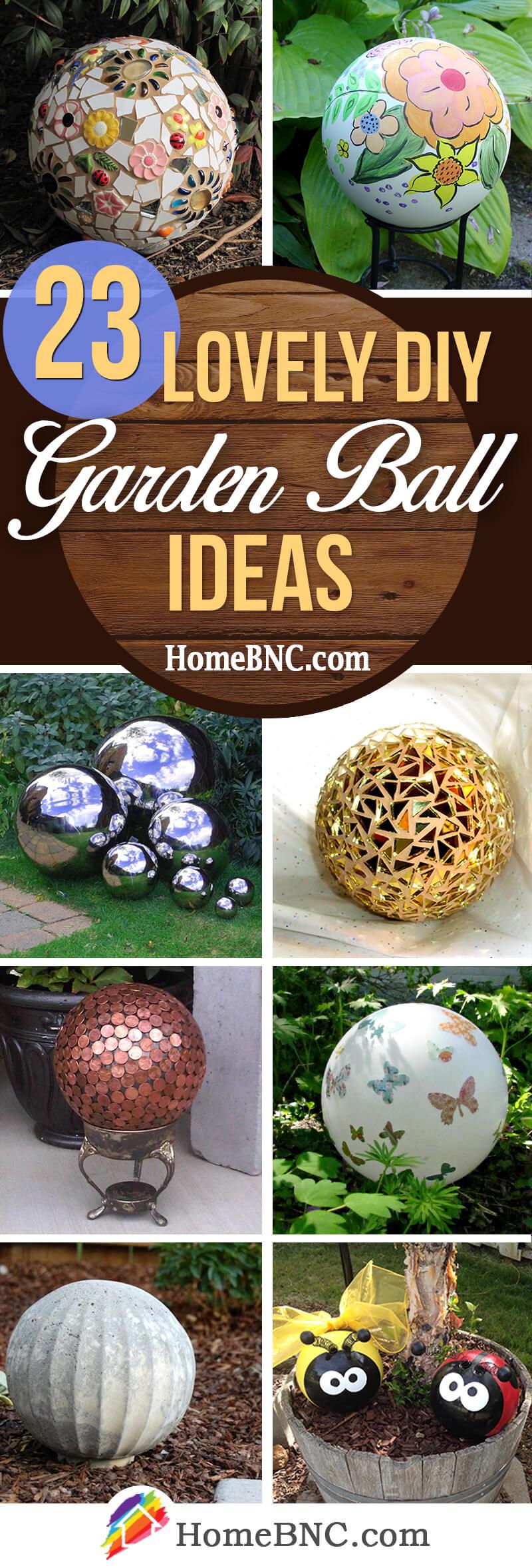 DIY Garden Ball Ideas