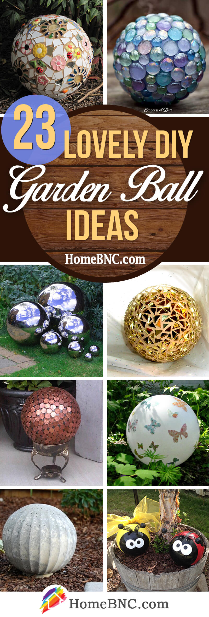 DIY Garden Ball Ideas