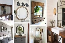 Farmhouse Mirror Designs