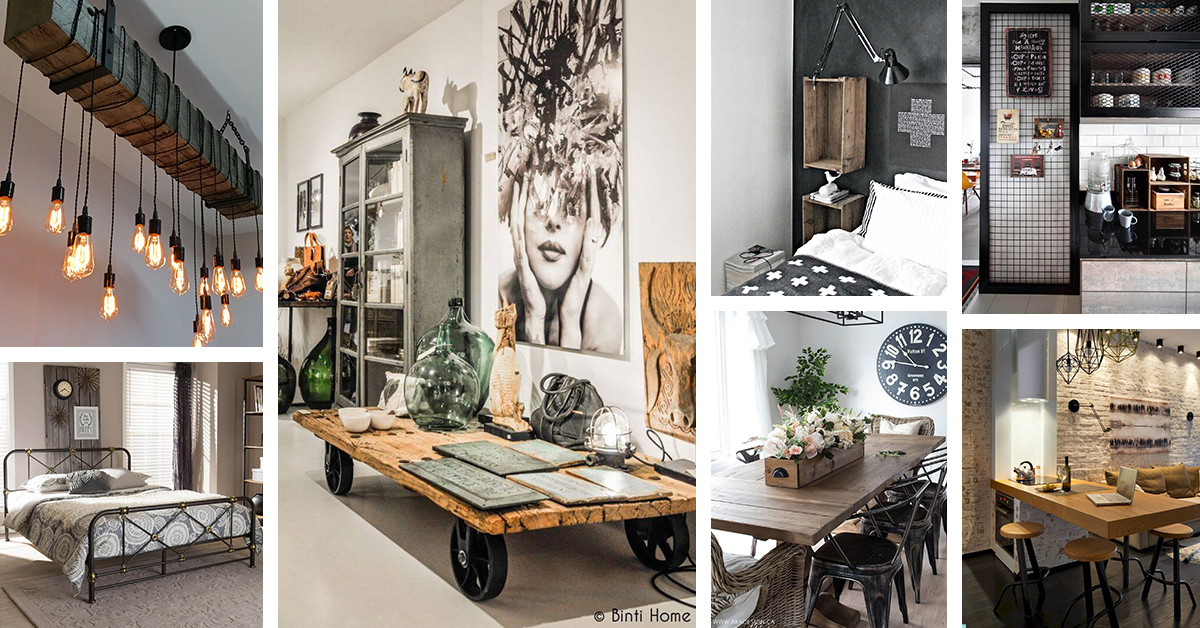36 Best Industrial Home Decor Ideas And Designs For 2019 - Home-decorate-ideas
