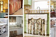Kitchen Cabinet Curtains