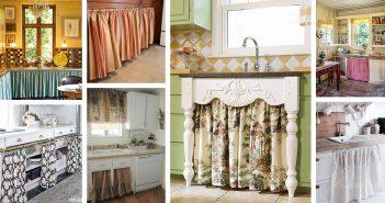 Kitchen Cabinet Curtains