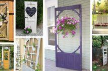 Old Door Outdoor Decorations
