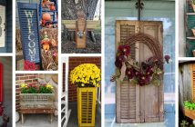 Old Shutter Outdoor Decorations
