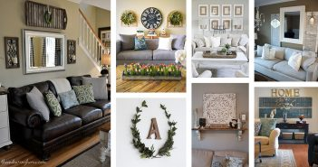 Rustic Living Room Wall Designs