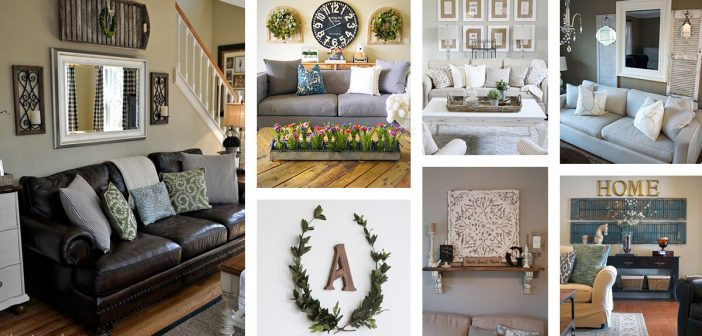 33 Best Rustic Living Room Wall Decor Ideas And Designs For 2021