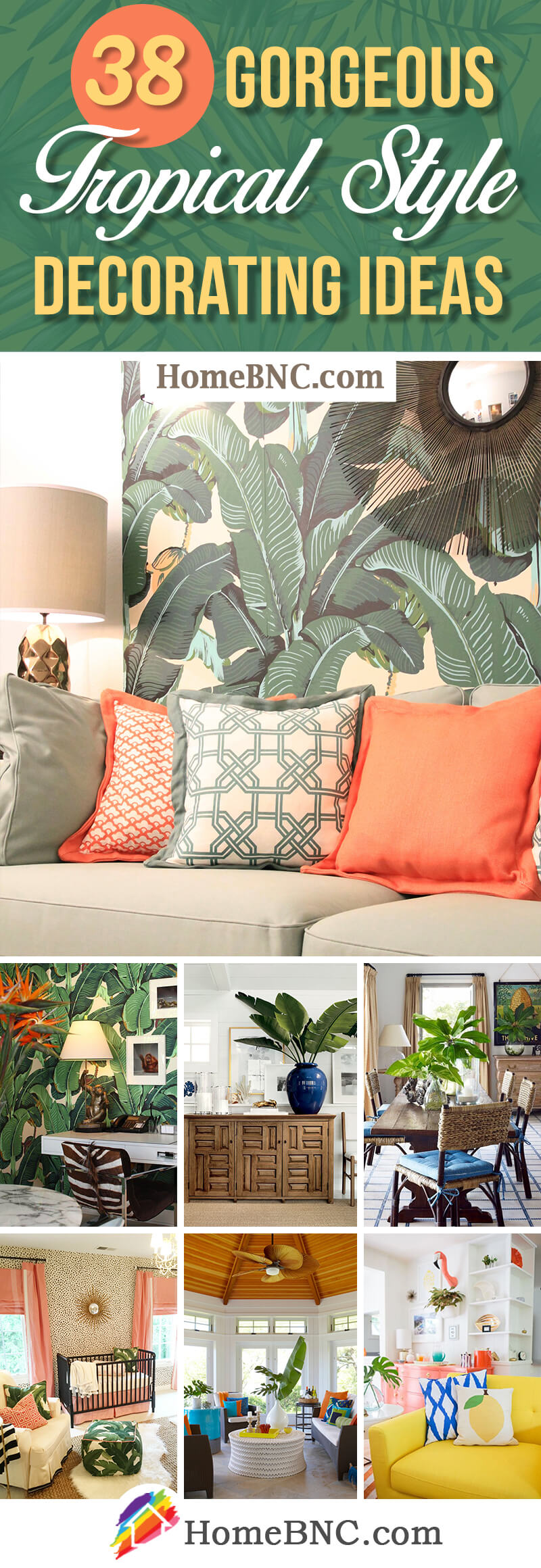 Tropical Style Decorating Ideas