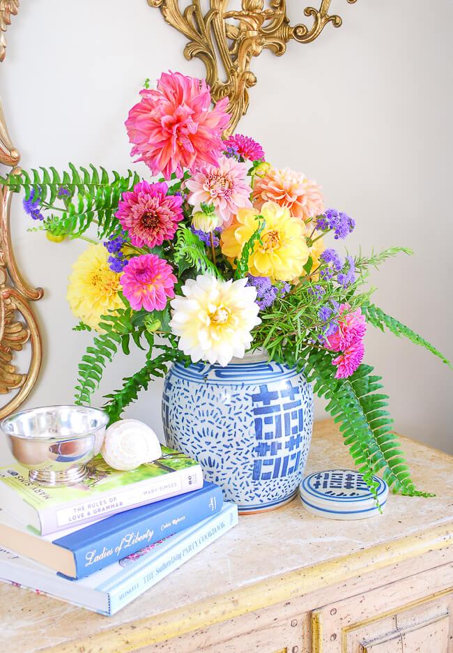Classic Ginger Jar Flower Arrangement