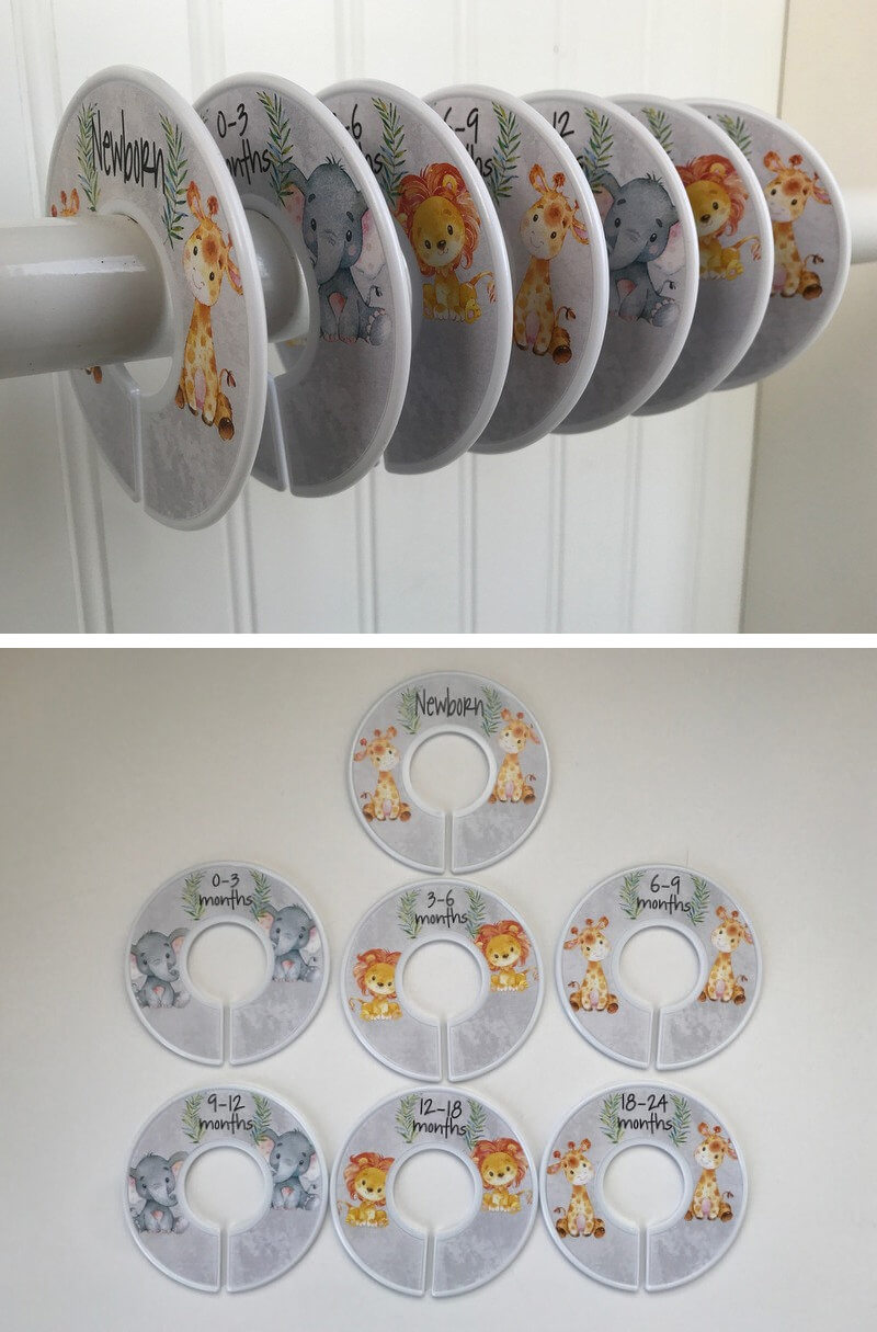 Closet Dividers for Baby's Room