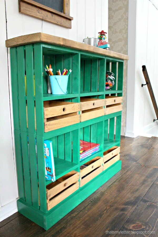 Alternate Drawers for Cute Locker Cubbies