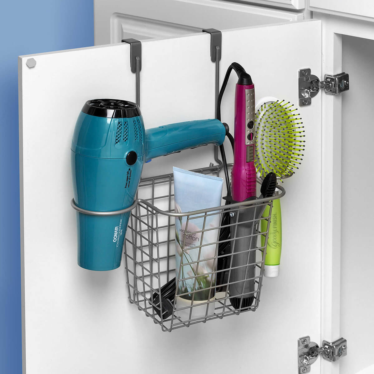 Cabinet Wire Basket Idea