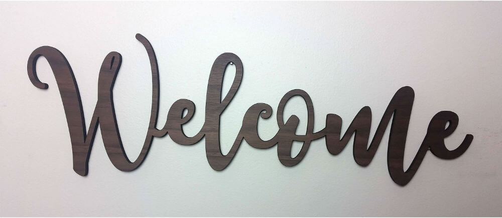 Welcome Your Guests in Script