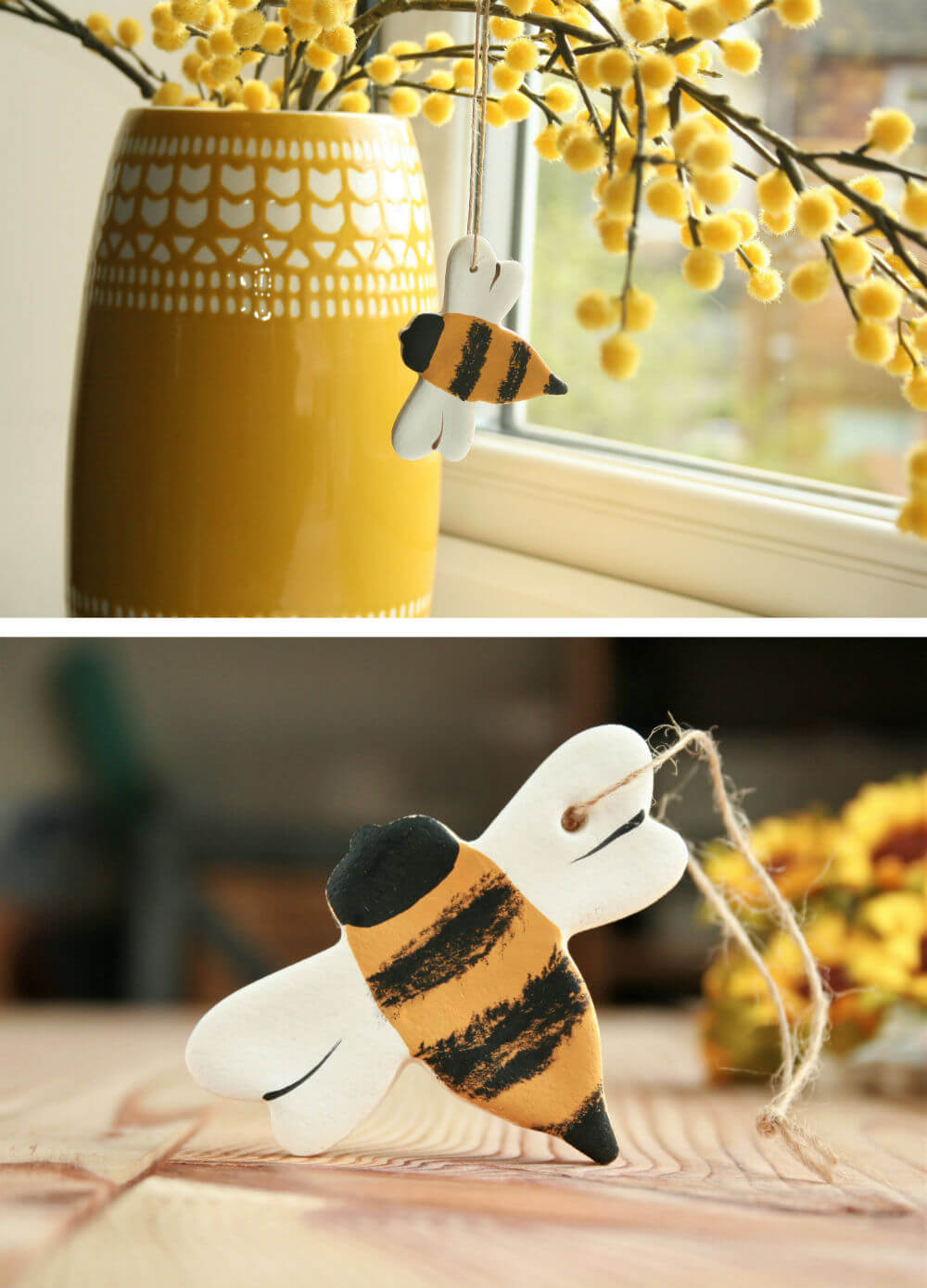 Bumble Bee Hanging Ornament