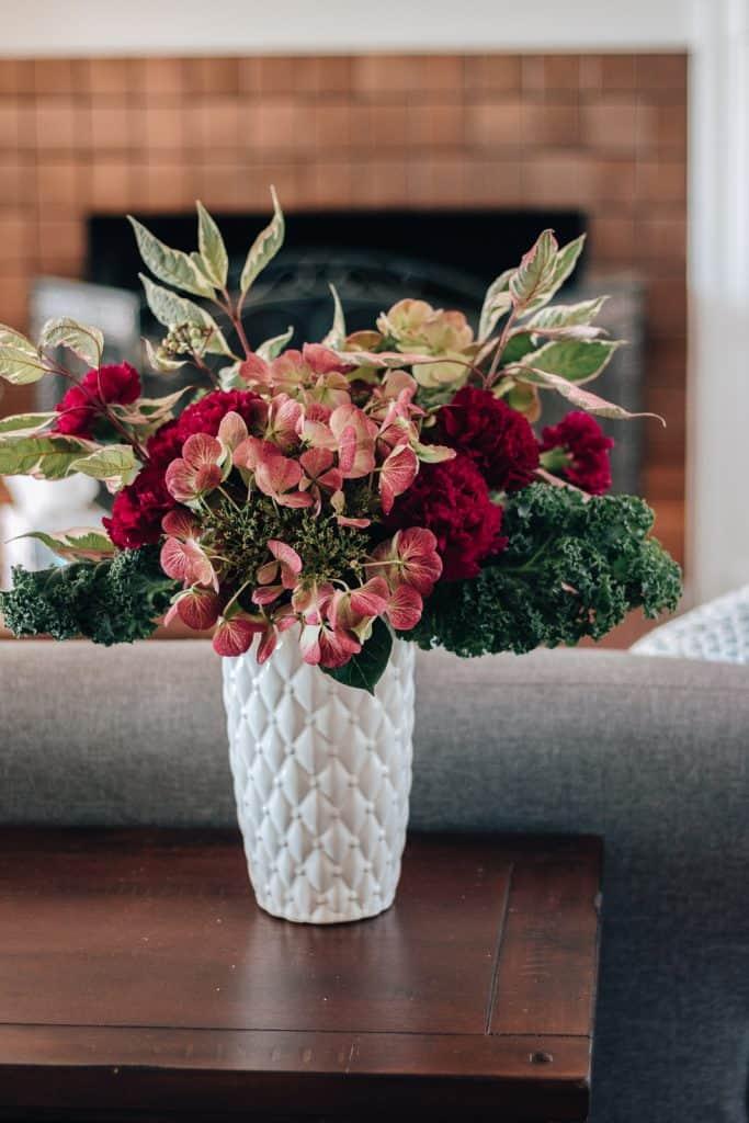 Fall Themed Warm Floral Arrangement