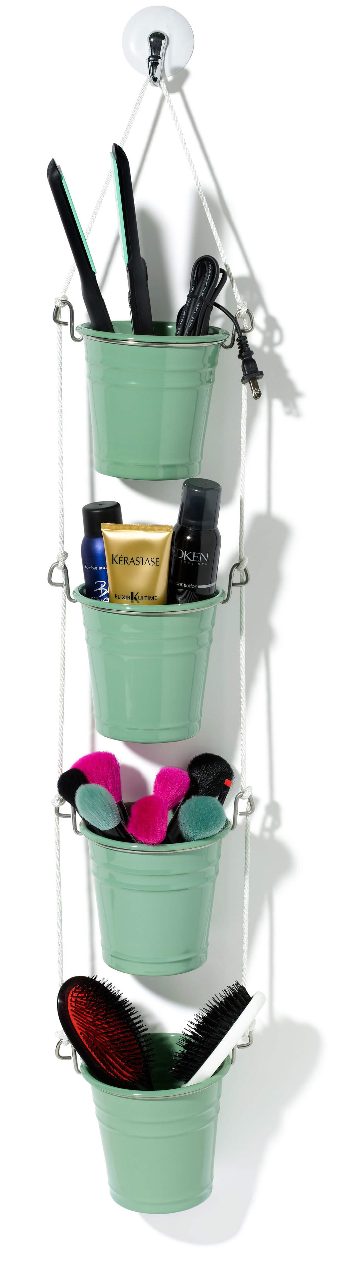 Bathroom Closet Swinging Buckets