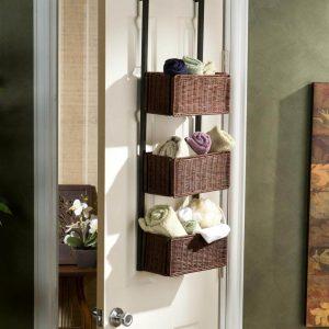Over the Door Closet Baskets