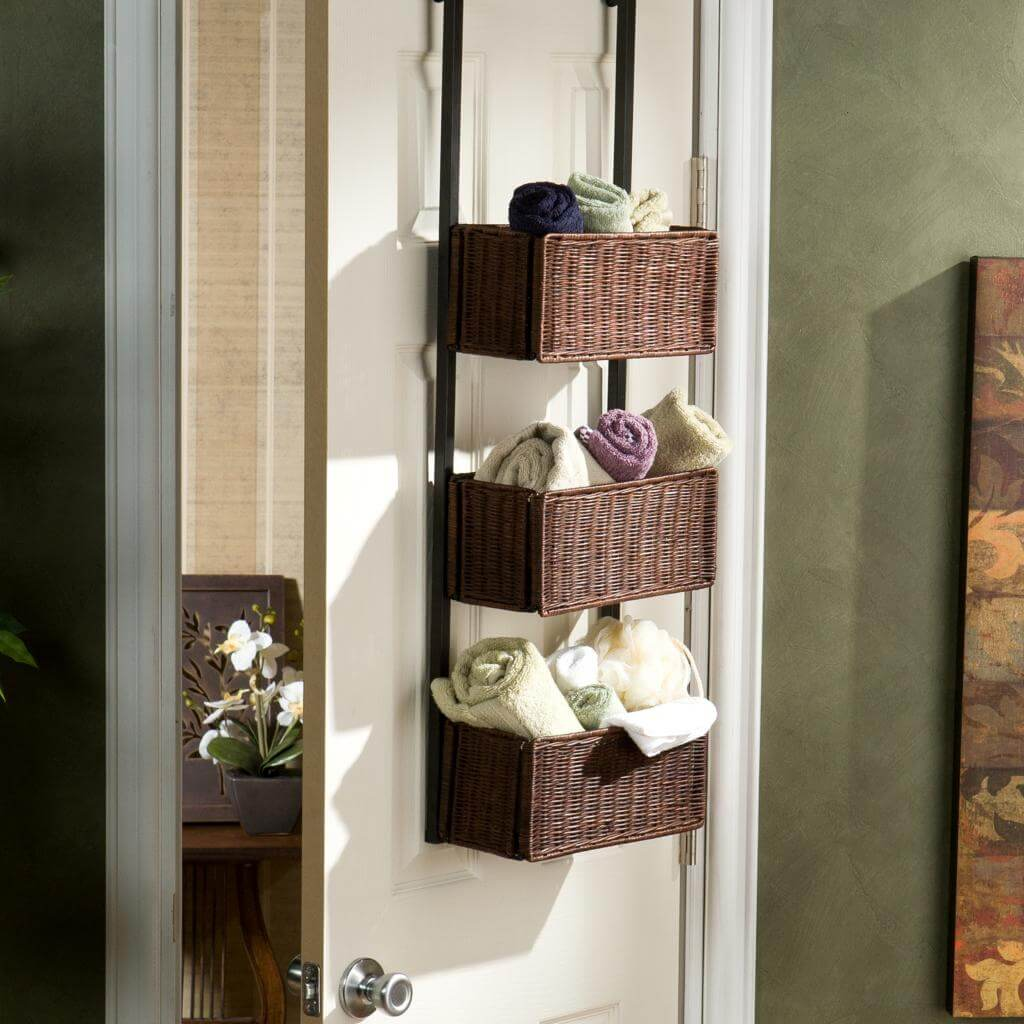 Over the Door Closet Baskets