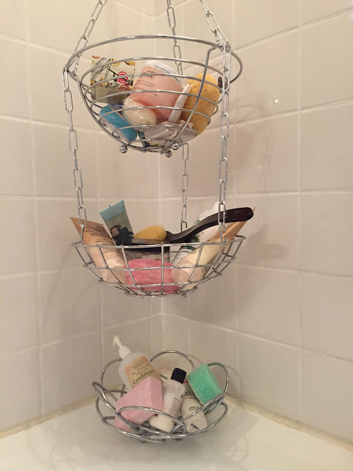 Corner Shower Wire Basket