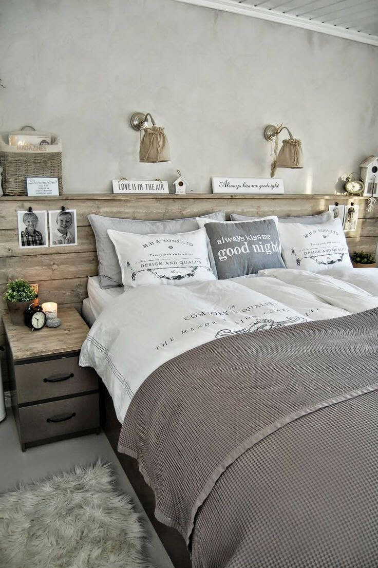 Rustic Burlap and Wood With Farmhouse Twist