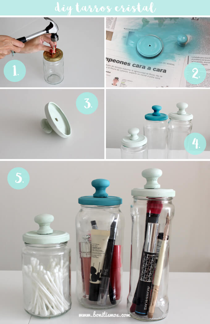 32 Best Mason Jar Organizer Ideas And Projects For 2021