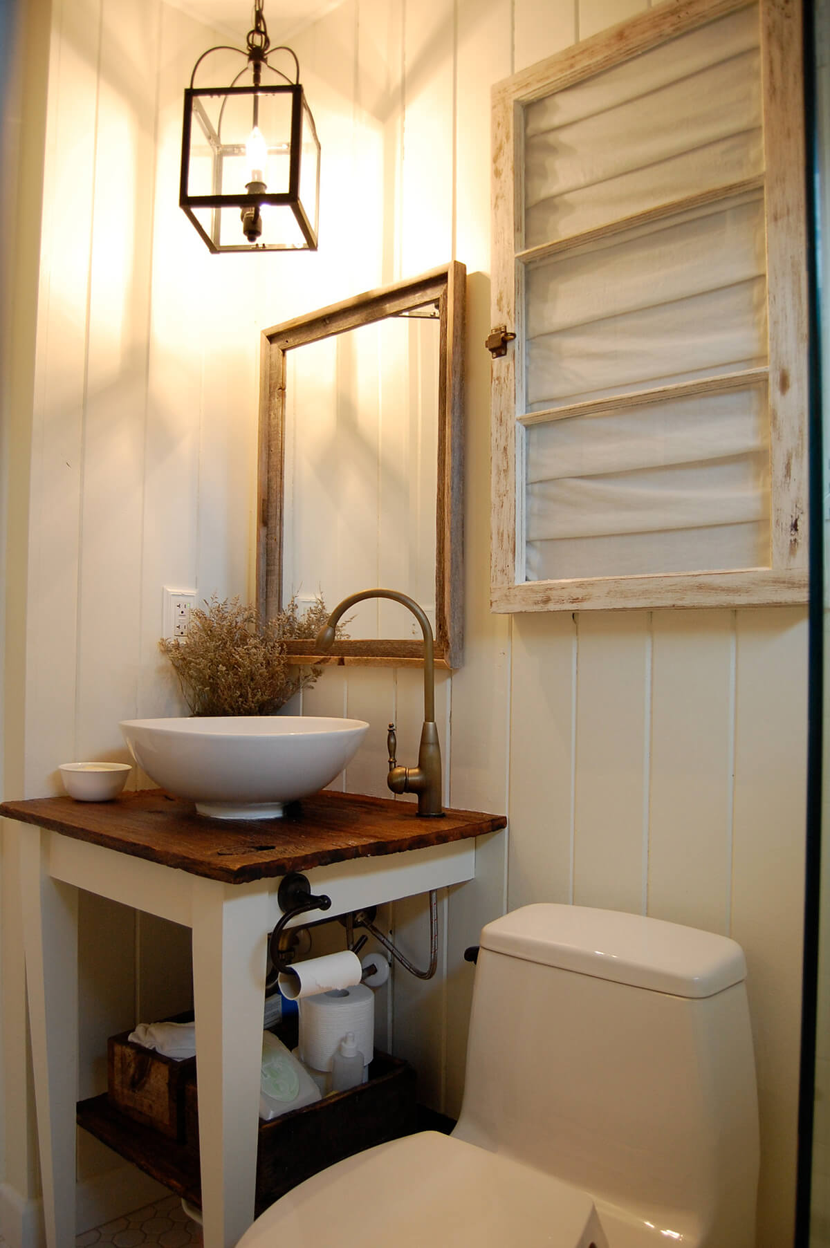 35 Best Rustic Bathroom Vanity Ideas And Designs For 2021