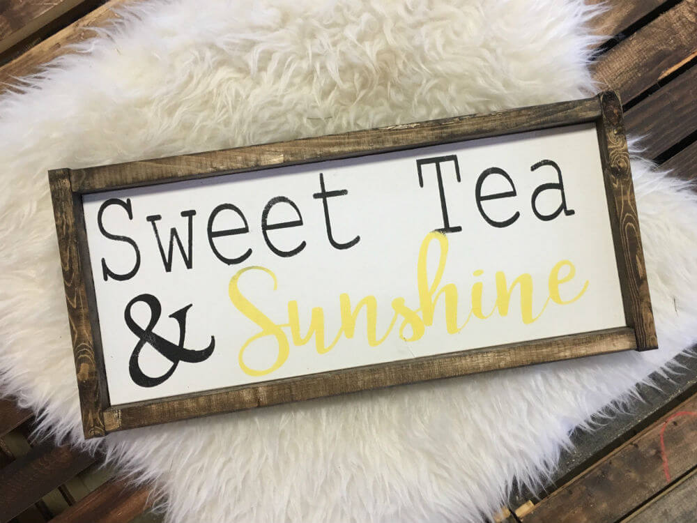Hand-Painted Sweet Tea and Sunshine