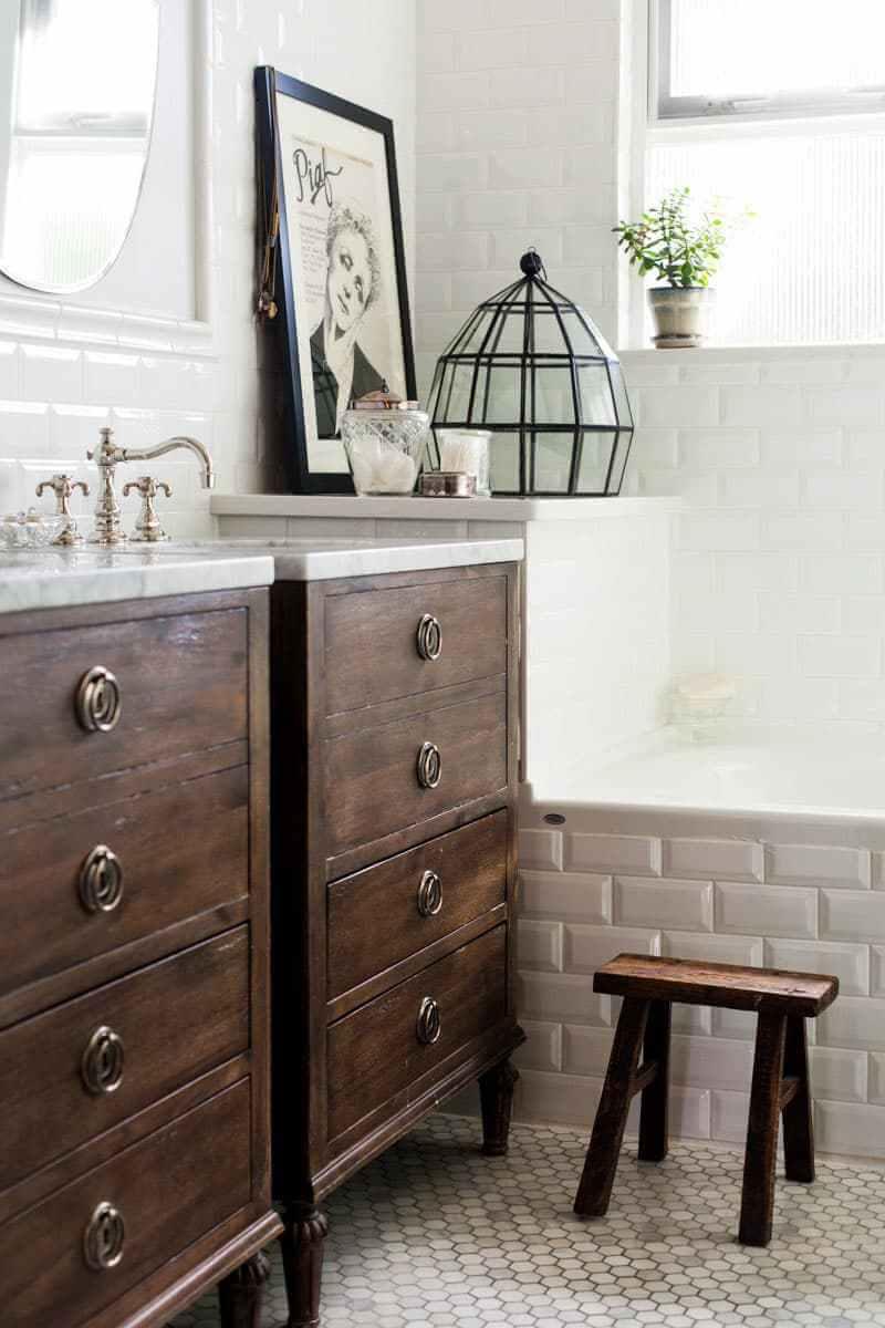 35 Best Rustic Bathroom Vanity Ideas and Designs for 2020
