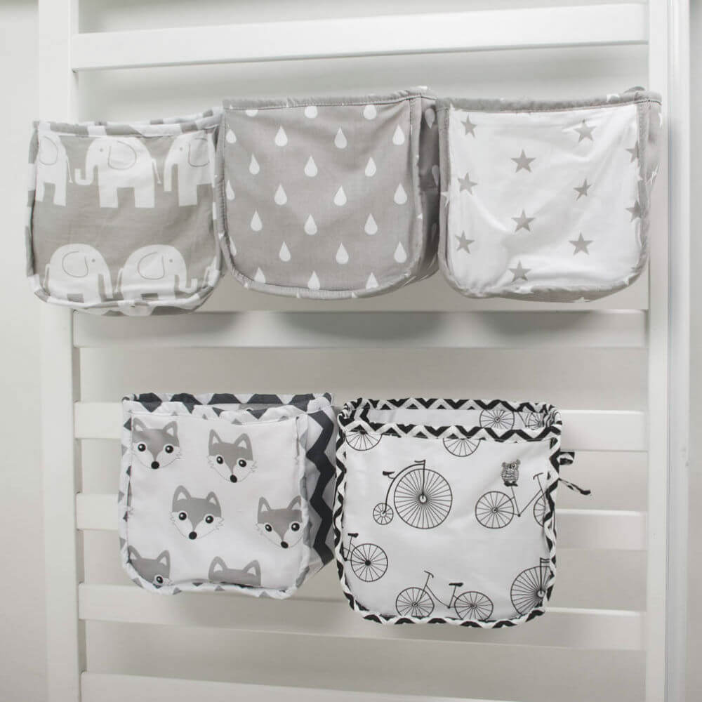 Crib Pocket Organizers for Nurseries
