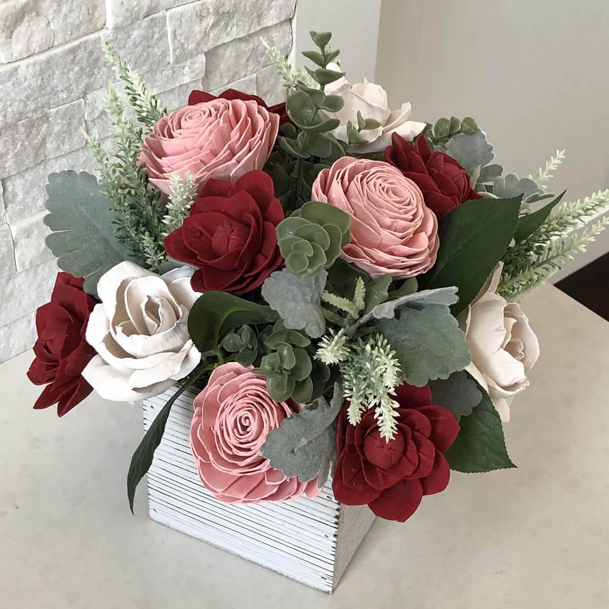 Be Mine Valentine's Day Flower Arrangement
