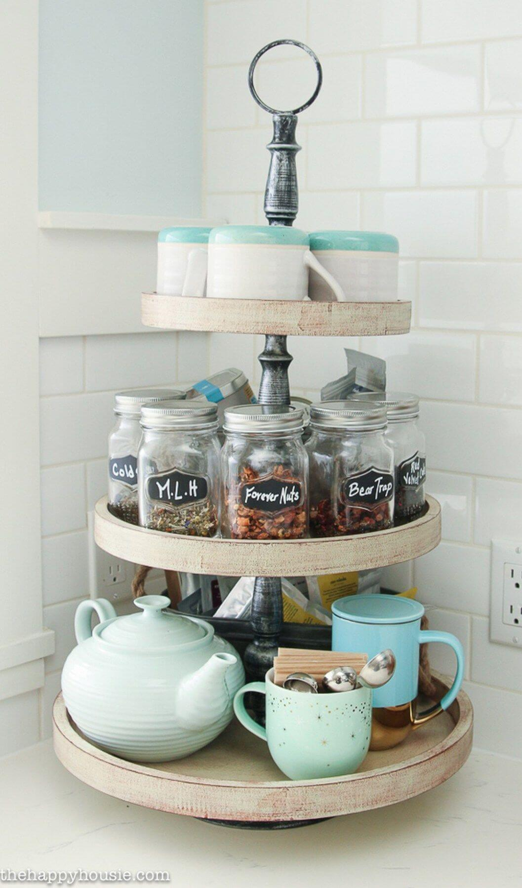Create a Revolving Drink Station