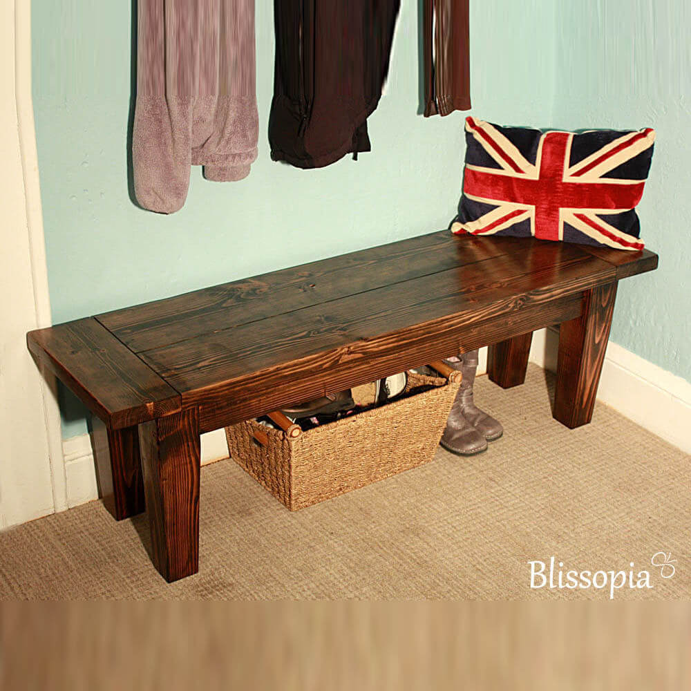 Heirloom Quality Entry Bench