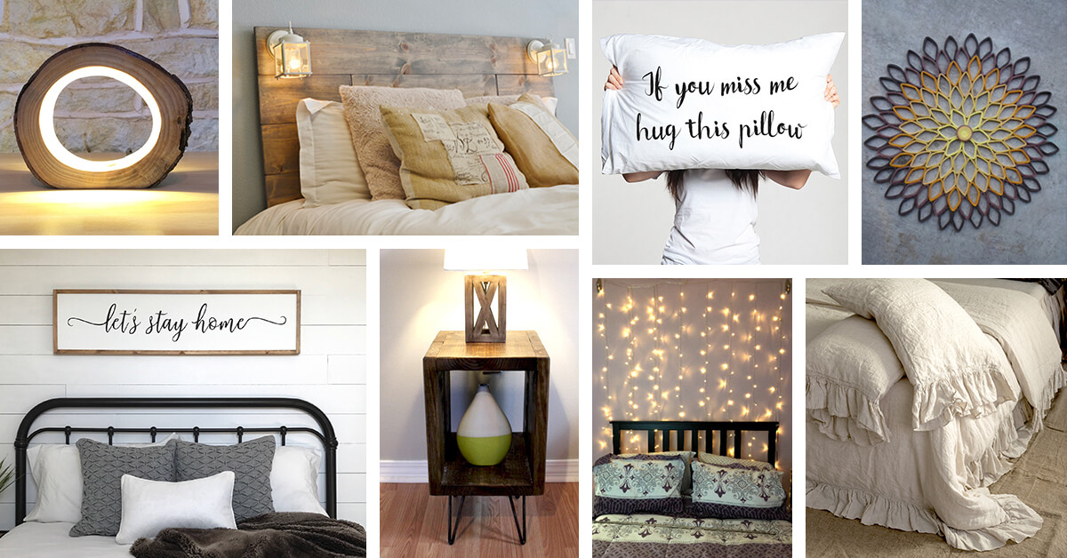 Superbe 24 Best Etsy Bedroom Decoration Ideas And Accessories To Buy In 2018