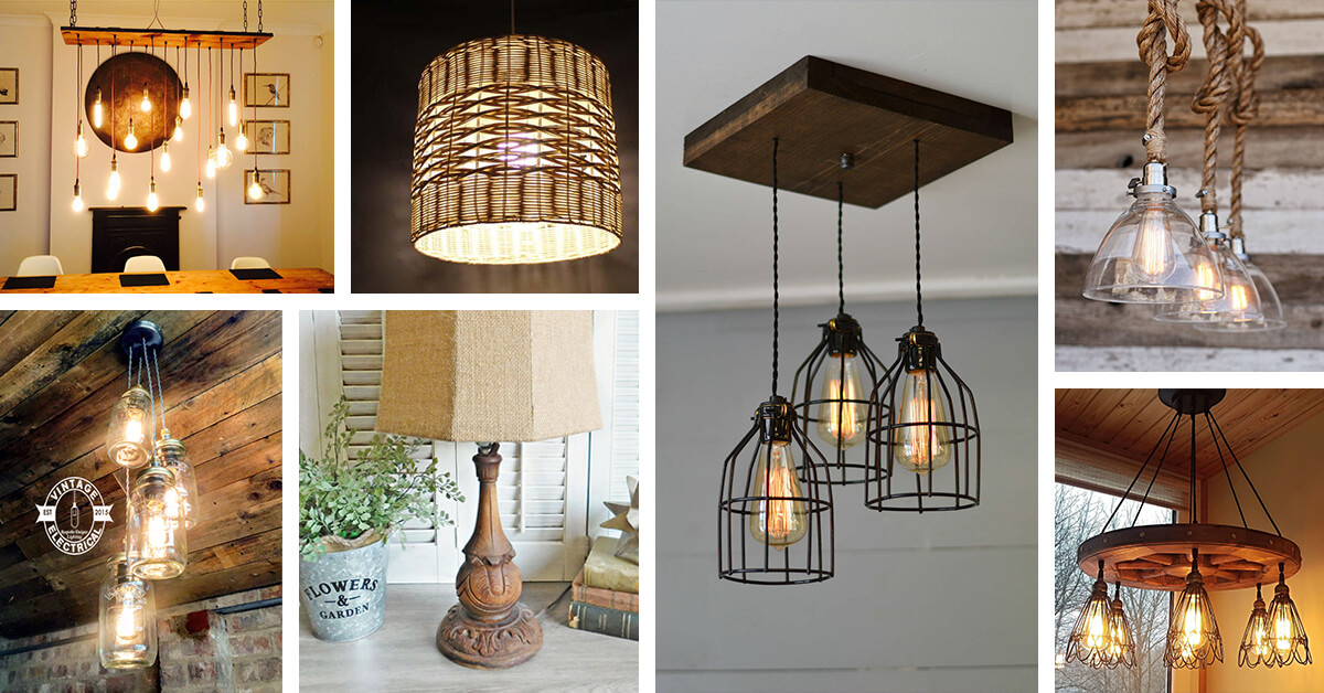 25 Best Rustic Lighting Ideas From Etsy To In 2019