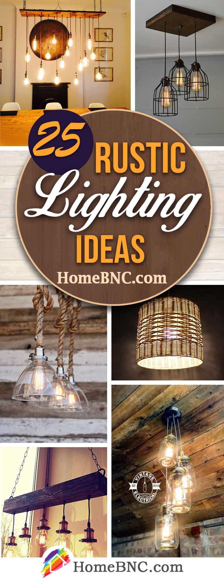 Etsy Rustic Lighting Ideas