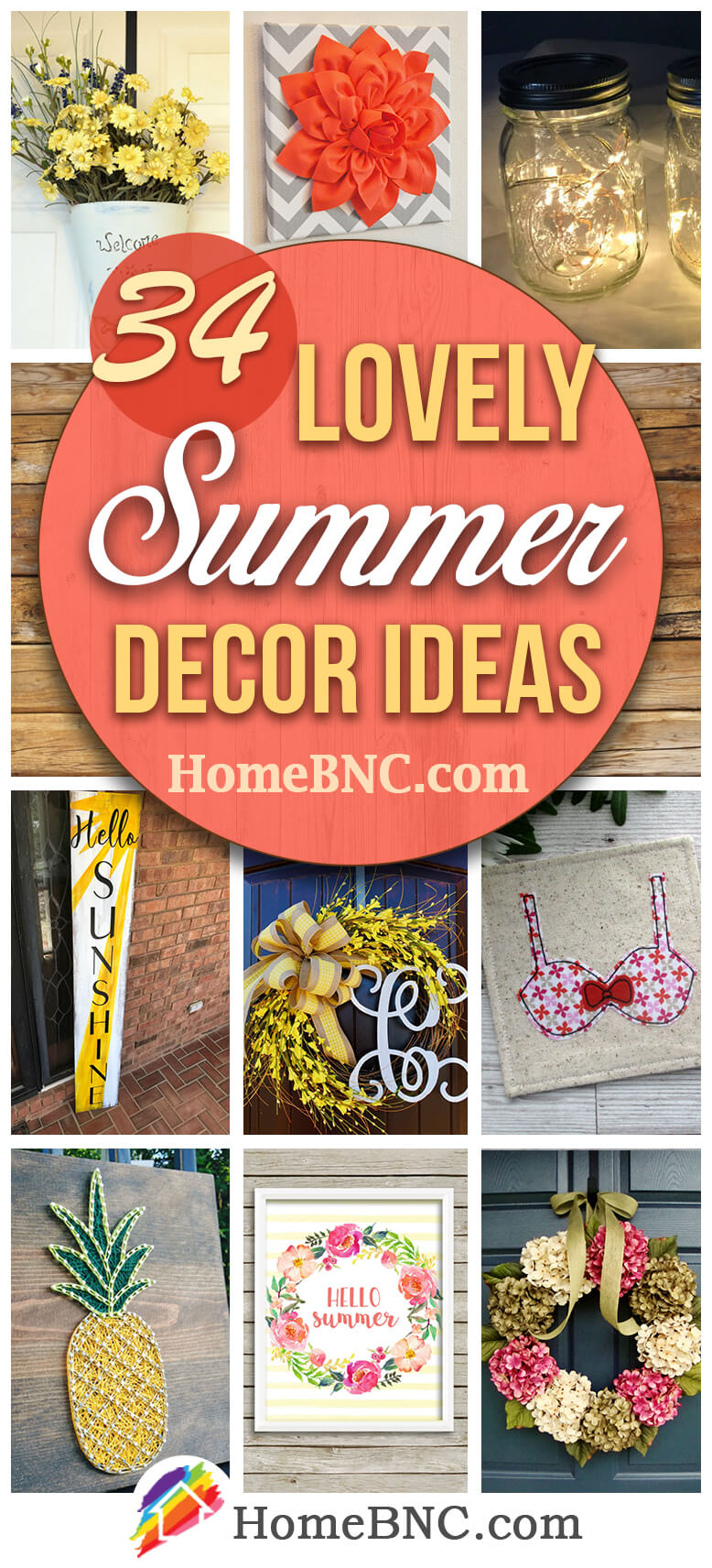 Etsy Summer Decor Ideas