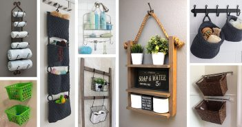 Hanging Storage Projects for Bathrooms