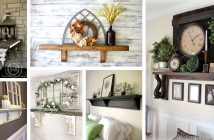 Mantel Shelves without Fireplace