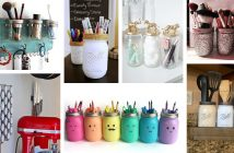 Mason Jar Organizer Projects